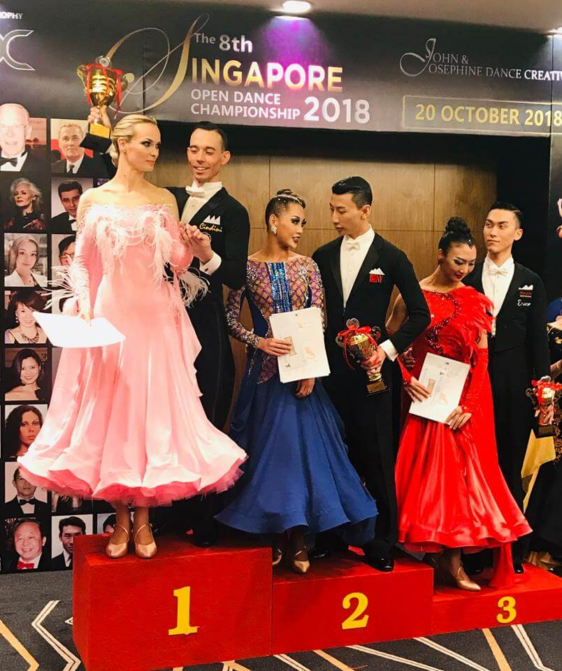 15 World Throphy - Singapore Open Dance Championship